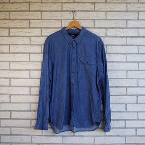 Gap Denim Button Front Shirt Indigo Classic XL